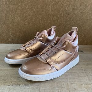 NEW Nike Jordan Flyaway Bronze Sneaker / 6.5